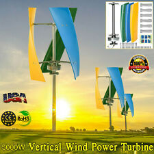 5000wvertical Wind Power Turbine Generator Maglev Generator Withcharge Controller