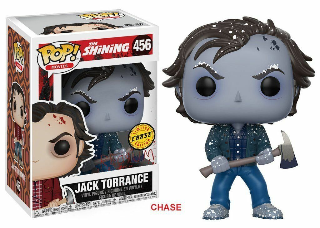 DAMAGED BOX CHASE FROZEN JACK TORRANCE 3.75 3.75 3.75  POP MOVIES VINYL FIGURE FUNKO 456 17d33d
