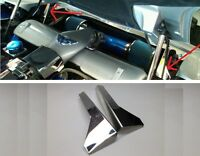 Corvette C5 Ls1 1997-2004 Polished 2pc Hood Hinge Covers Engine Chrome Stainless