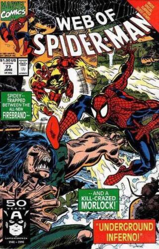 WEB OF  SPIDER-MAN   # 77 COMIC 1991-9.4