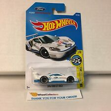 2016 Ford GT Race #247 * WHITE * 2017 Hot Wheels L Case