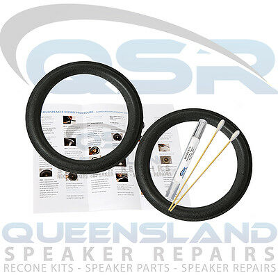 HD9 Woofer Repair Kit FSK-828 HD8 Boston Acoustics 8 Inch T-1000 T-830 T-1030 Pair