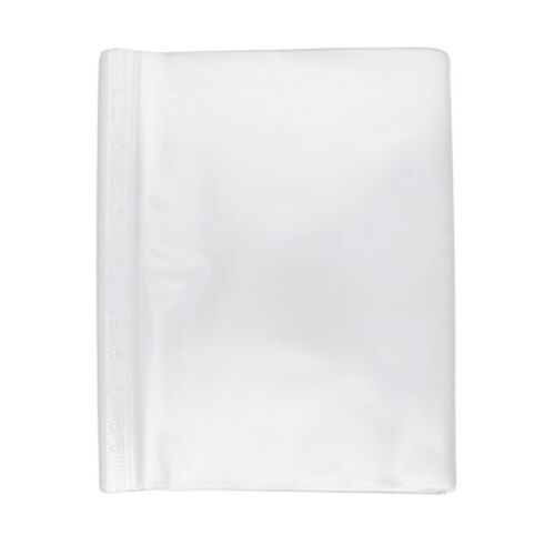 100 Sheets Clear Non Glare Loose Leaf A4 Paper File Letter Sheet Protectors