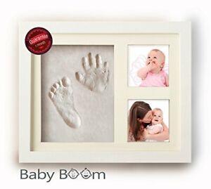 Prettyia Baby Handprint Kit /& Footprint Photo Frame for Newborn Girls and Boys