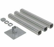 Hush Panel Post Kit Configurable Office Partition Cubicle Aluminum Frame