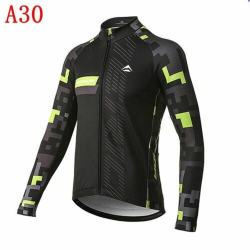 Cycling Long Sleeve Jersey 2020 Mens Breathable Team Bike Shirts Racing Tops S13