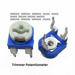 série 67 W 0,5 W 30 pièces Trimmer 100 ohm Potentiomètre TT-Electronics