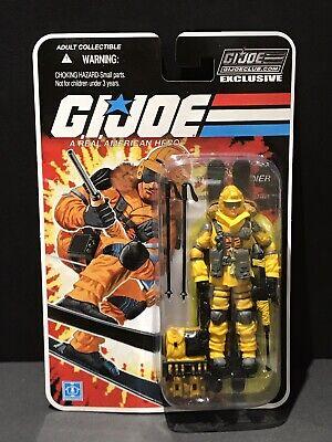 G.I Joe 25th 30th 50th FSS Club Exclusive Final 12 Tiger Force Blizzard MOC