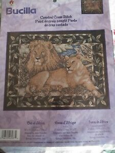 Bucilla-Counted-Cross-Stitch-Kit-OUT-OF-AFRICA-sealed