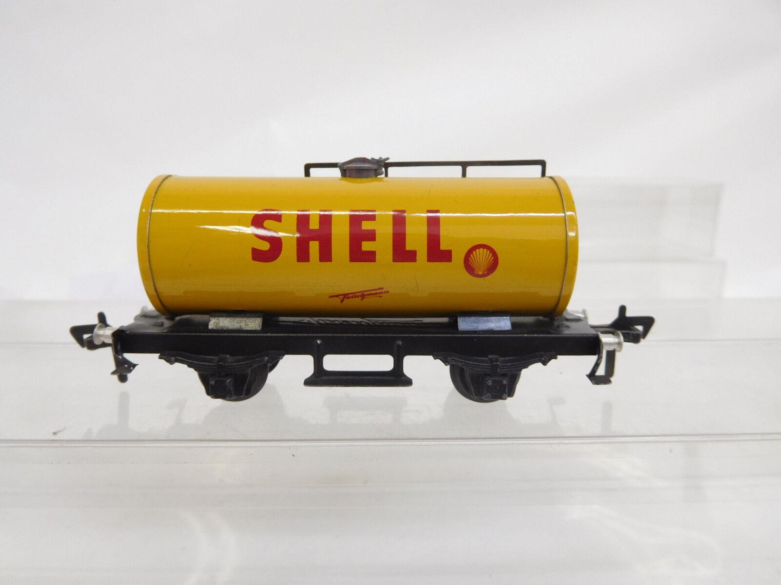 Eso-7730 Fleischmann H0 Kesselwagen SHELL mit minimale Gebrauchsspuren,