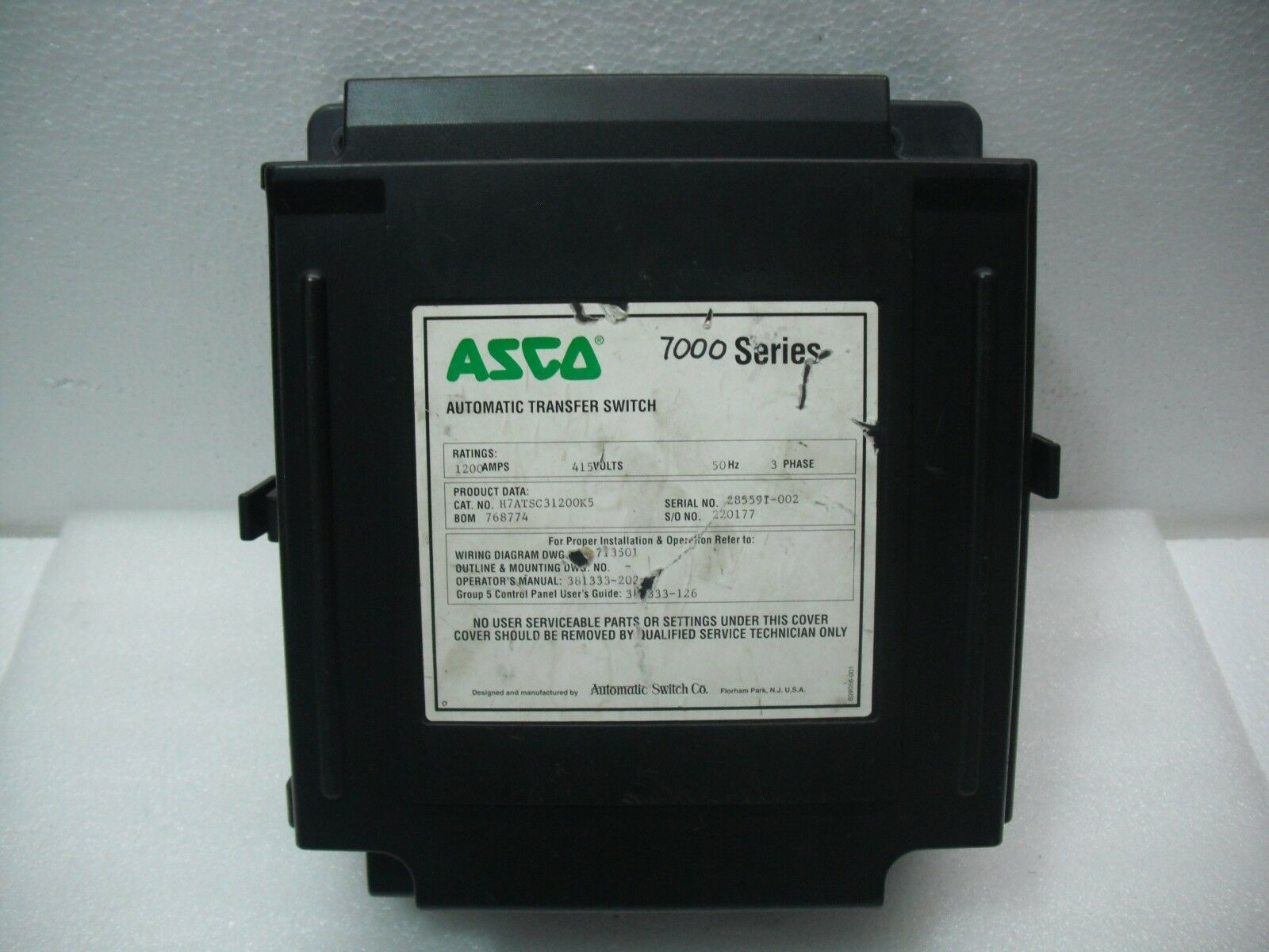 Asco 7000 Series Automatic Transfer Switch Ebay On 3 Phase Wiring Norton Secured Powered By Verisign