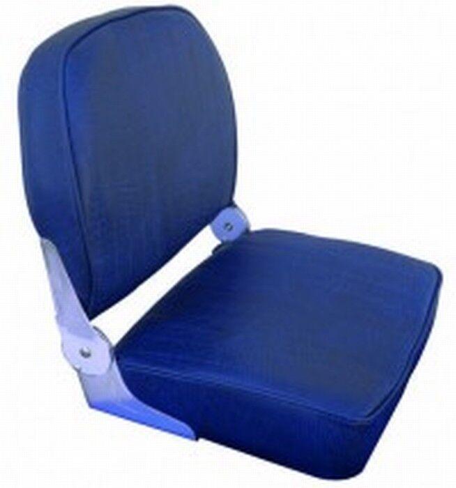 Sitz mit dem Stiefel mit mit mit Rückenlehne Kippbar - weiß Blau 36x41x48h 6f6bef