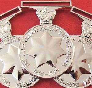 10-x-ARMY-NAVY-AIR-FORCE-AUSTRALIAN-ACTIVE-SERVICE-MEDALS-1945-75-REPLICA