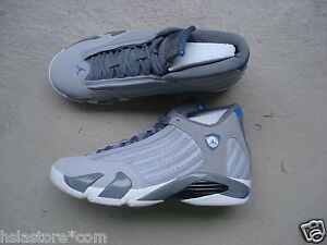 Nike bleu loup sport 45 Jordan xiv gris Air blanc 14 5 rRq6rAw