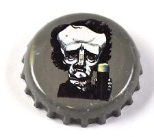 Raven Beer Bier Edgar Allan Poe Kronkorken USA Soda Bottle Cap grau