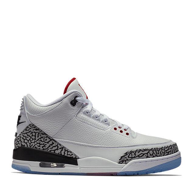 Nike Air Jordan 3 Retro NRG NRG NRG White Cement Free Throw Line Size 14. 923096-101 b1b353