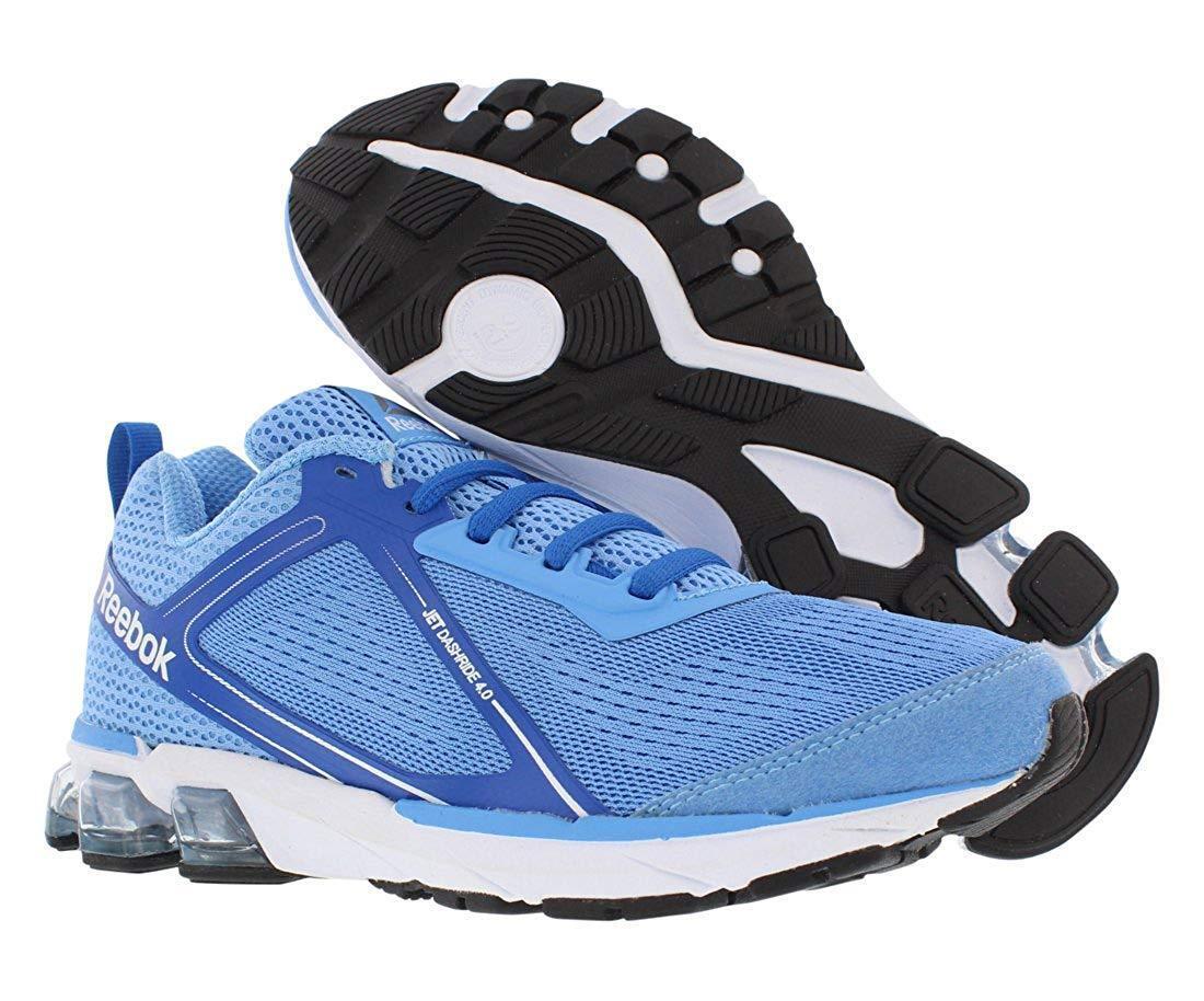 Reebok Women's Jet Dashride 4.0 (Sky bluee White) Running shoes