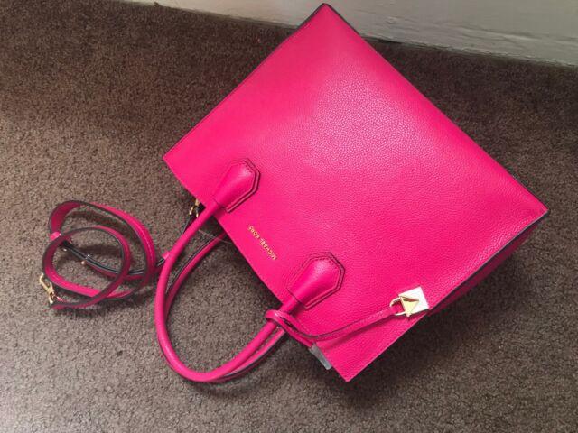 b697e245669398 Michael Michael Kors Studio Mercer Large Convertible Tote Ultra Pink ...