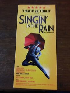 FLYERS-FLYER-MUSICAL-WEST-END-SINGIN-IN-THE-RAIN