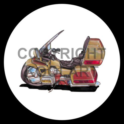 Koolart 4x4 4 x 4 Spare Wheel Graphic Honda Goldwing 1500Cc Sticker 600