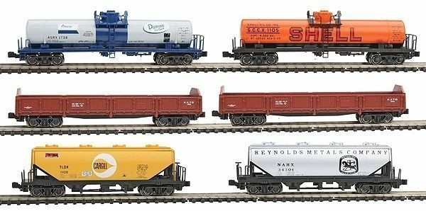 NEW KATO  N Gauge 106-6275 MIXED FREIGHT TRAIN SET