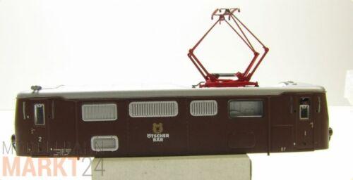 Ersatz-Gehäuse E7 Ötscherbär z.B für ROCO NOVÖG Elektrolok 1099 007 H0e NEU