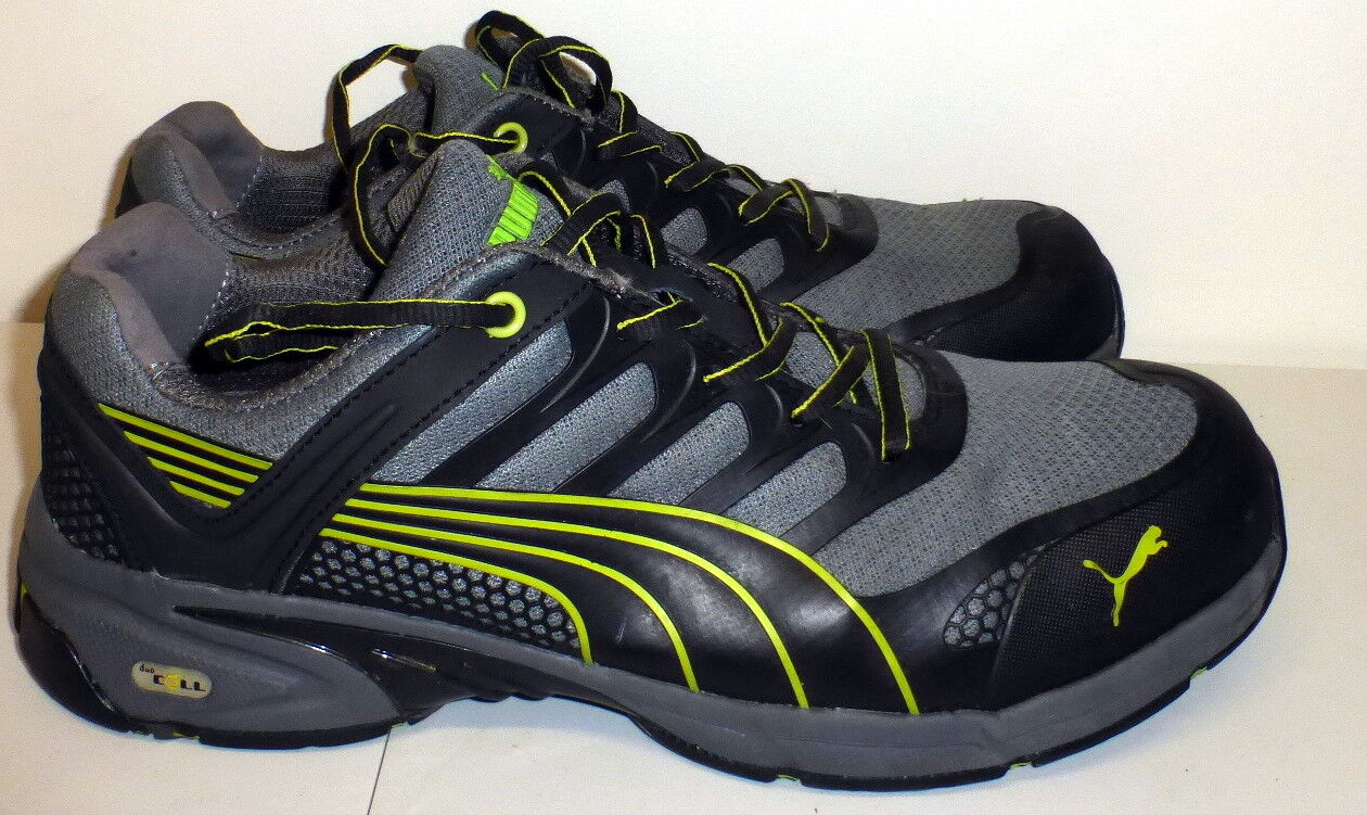 MENS PUMA DUO CELL FUSE MOTION SD F2413-11 ASTM COMPOSITE SAFETY TOE SHOES 13