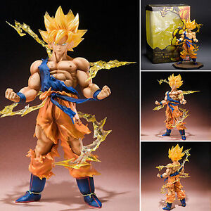 Kid-Anime-Dragon-Ball-Z-Super-Saiyan-Son-Goku-PVC-15cm-6-034-Figure-Xmas-Gifts-Toy
