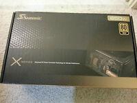Seasonic X Series X650 Gold (ss-650km Active Pfc F3) 80 Plus Gold Power Supply