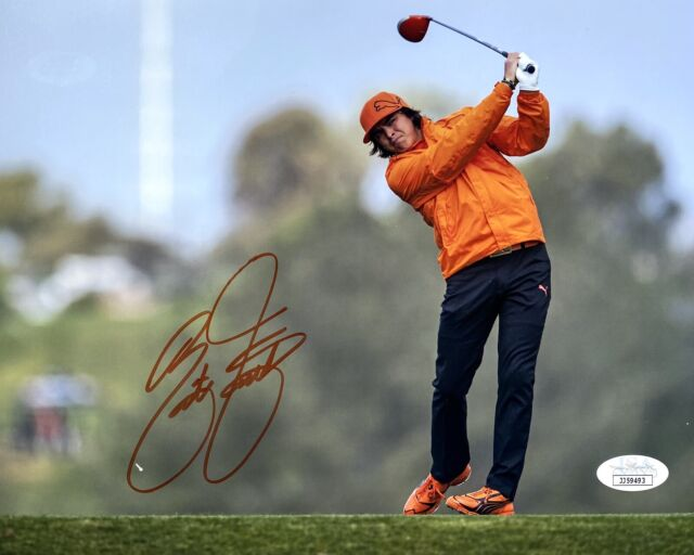 RICKIE FOWLER SIGNED THE PLAYERS GOLF TOURNAMENT 8x10 PHOTO w/JSA MASTERS