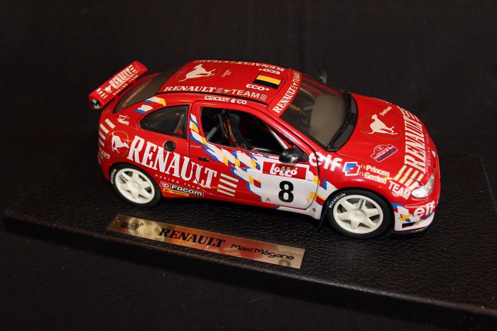 Anson DV Renault Maxi Megane 1999 1:18  8 Princen / Genten Boucles de Spa  AK