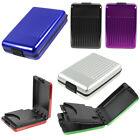 Aluminum Metal ID Credit Card Holder Wallet Case Business Waterproof Box US Hot