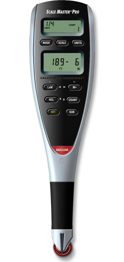 Calculated Industries 6025 Scale Master Pro Digital Plan Measure