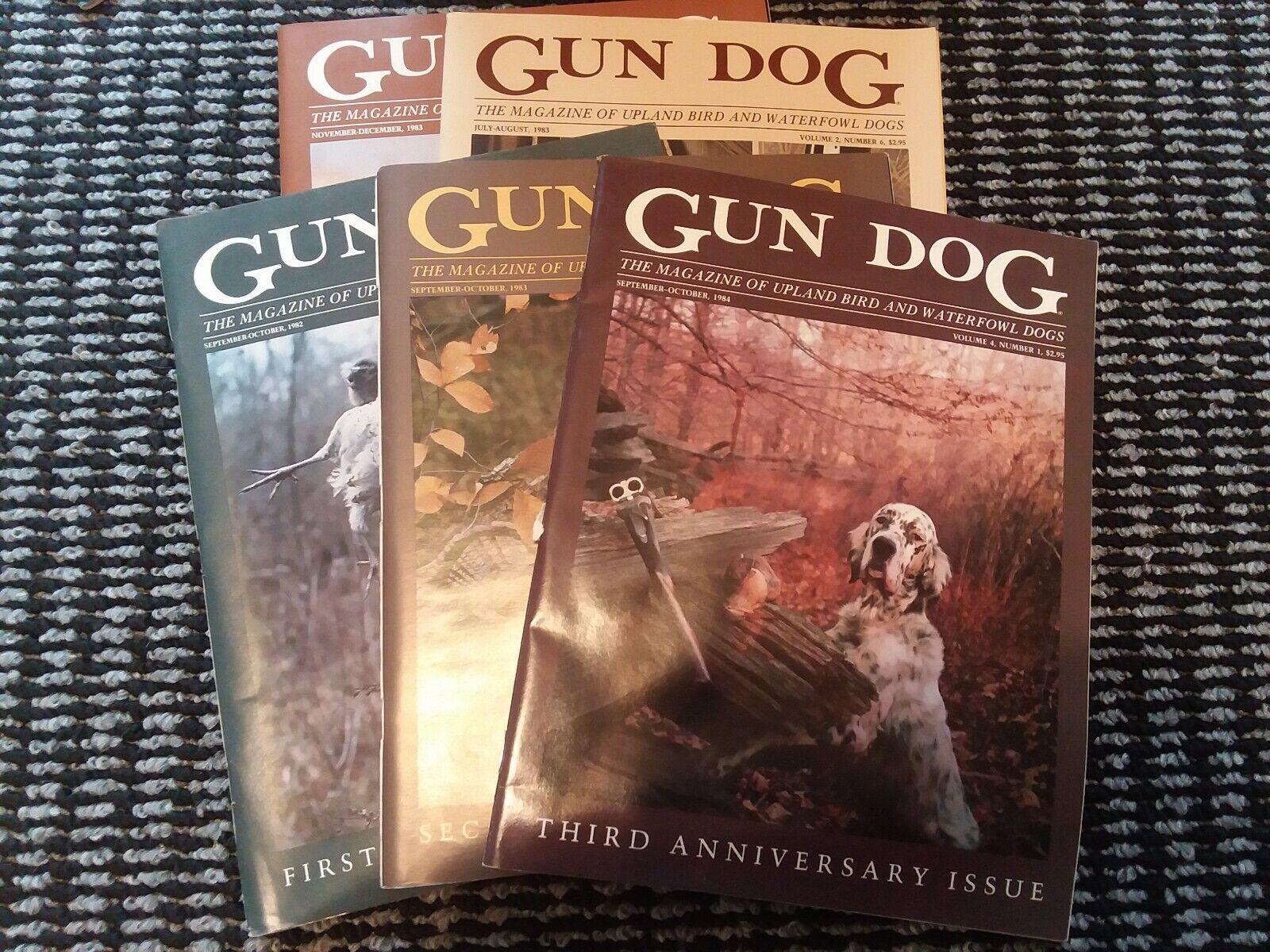 1982 1983 1984 pistola Perro Revistas aniversario 1 2 3 + Bonus 2 Revistas  de Colección