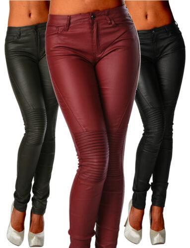 Pantaloni Slim 286 Maigre Jeans Z Nero Biker Sexy Burdeaux femme Fw515Rqf