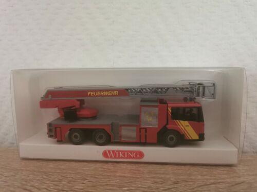 Wiking H0 1//87 06153941 MB Econic Feuerwehr Drehleiter DLK 30PLC Neu OVP