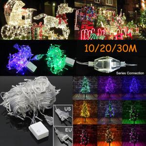 10M,20M,30M,LED,Guirlande,Lumineuse,Jardin,Mariage,
