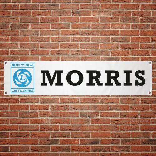 British Leyland Morris Banner Garage Workshop PVC Sign Trackside Display