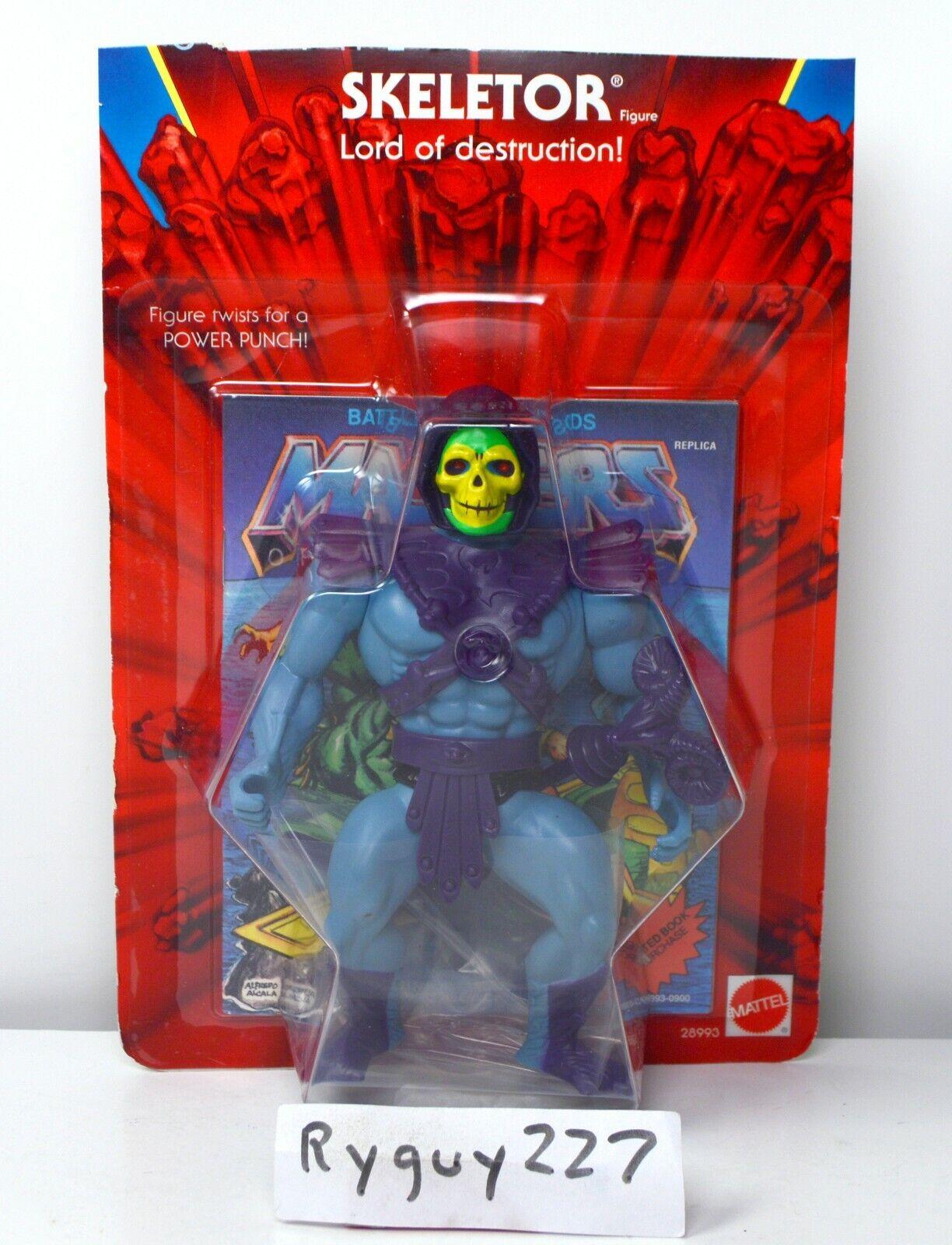 MOTU, Commemorative Skeletor,  MISB, complete, MOC, Masters of the Universe  branché