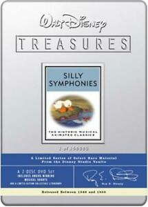 Silly-Symphonies-Walt-Disney-Treasures-Limited-Edition-Tin-N-amp-S-Neuf