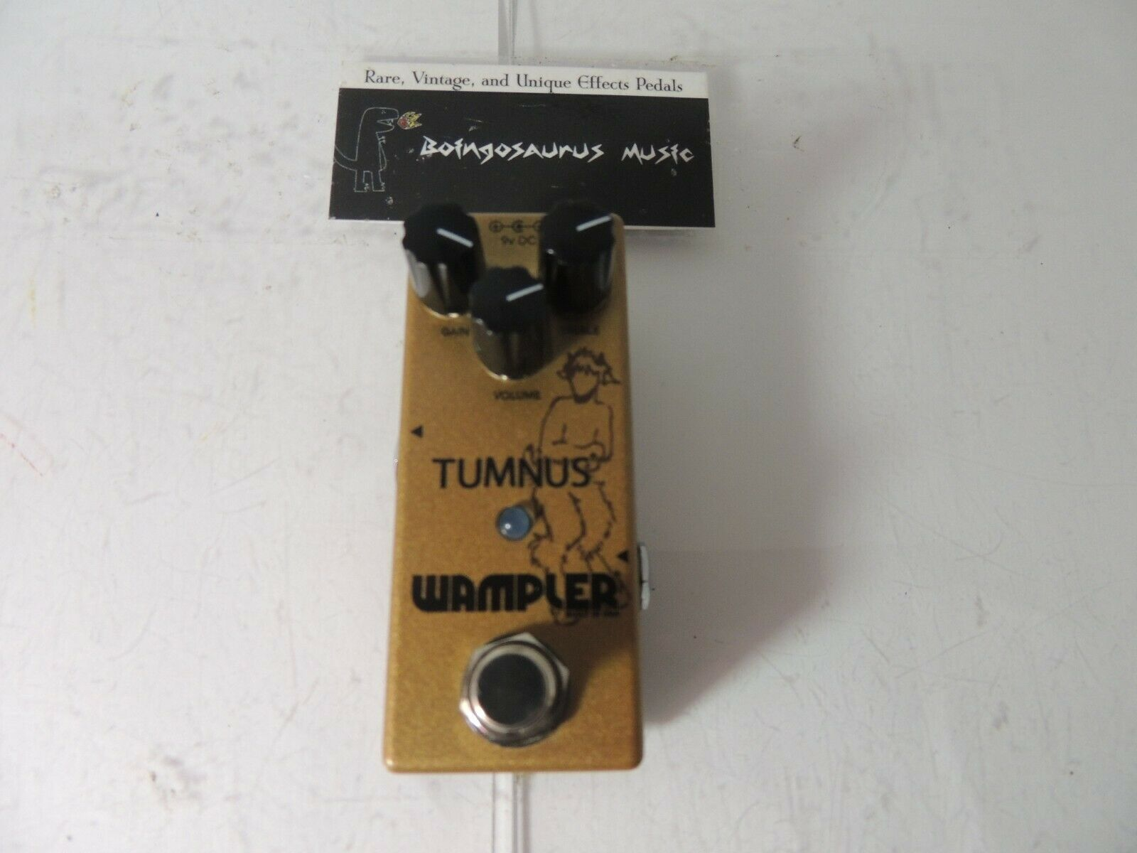 Wampler Tumnus Overdrive Boost Effects Pedal Free USA Ship