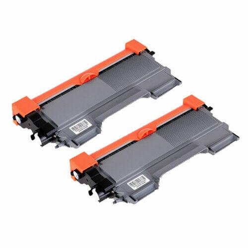2-Pack Toner TN-2250 Cartridge for Brother HL-2240D HL-2250DN MFC-7860DW