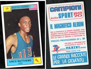 Vince-Matthews-USA-Panini-Athletics-CARD-1969-n-19