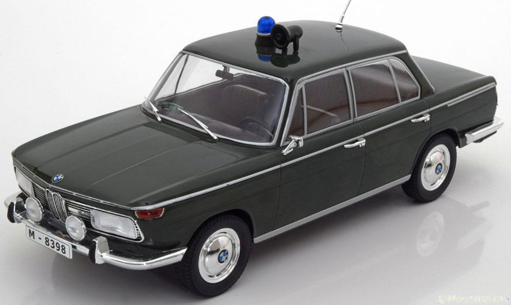 BMW 2000 TI TYP 120 POLIZEI 1966 DARK verde MCG 18042 1 18 POLICE GERMAN