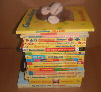 Lot Of 16 Curious George Board Books By H.a. Rey, Margret Rey