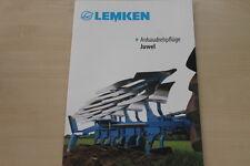 158054) Lemken Anbaudrehpflug Juwel Prospekt 02/2012