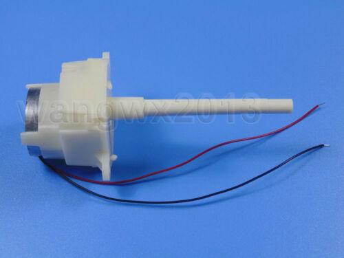 DC6V-12V 8-16RPM Long Output Shaft Turbo Worm Gear Motor 300 Motor for DIY Parts