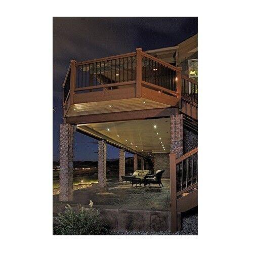 dekor deck De-Kor Recessed LED Down Lighting or Stair 4 Pack LED Lights