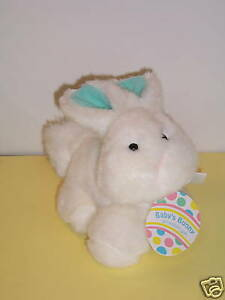 EASTER-BUNNY-EDEN-BABY-039-S-BUNNY-6-034-HTF-ORG-TAG