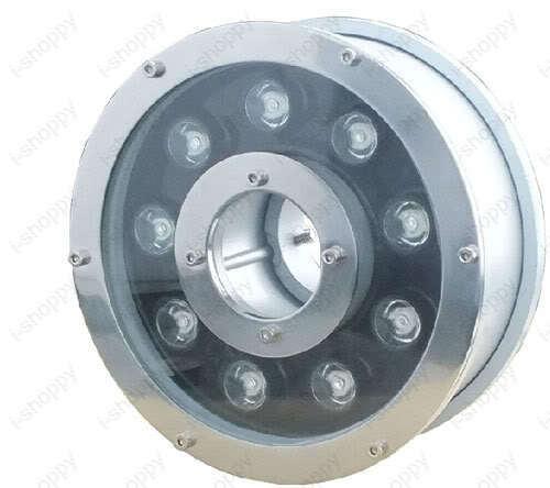 9W LED Luz Bajo El Agua Rgb Piscina Al Aire Libre Lámpara de fuente jardín impermeable 12V Nuevo